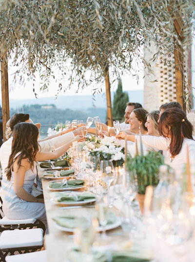 Tuscany Wedding Erica Nick - Lauren Fair Photography369