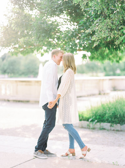 New Town St. Charles Missouri photography couples session