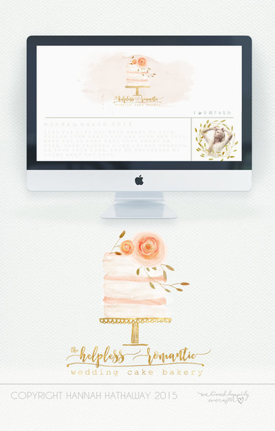 Vintage_Naked_Wedding_Cake_Logo_-_Watercolor_Painted_Premade_Boho_Business_Logo__Item__140BK_-270530965-_1