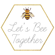 LetsBeeTogetherBadge