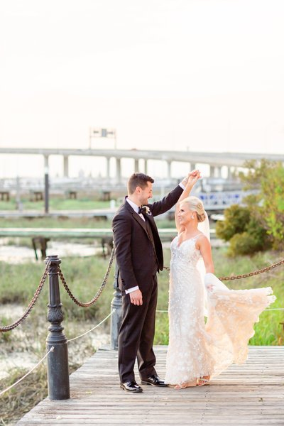 Historic Rice Mill Spring Wedding-7-min