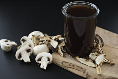 instant pot vegan mushroom stock broth recipe