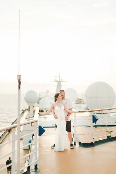 wedding on cruise ship by costola photography