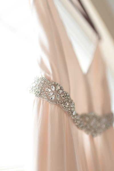 Details on wedding dress