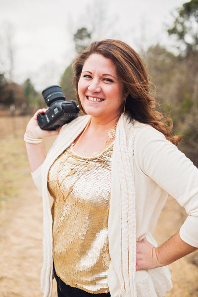 Girl with her camera -  by Arkansas wedding photographer Christy Hendrick of Simply Bliss Photography