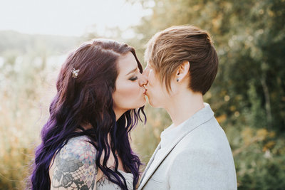 Iowa wedding photographer Chelsea Dawn Weddings happily serves people from all walks of life and believes that love is love.
