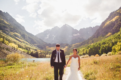 Aspen Colorado Wedding Maroon Bells