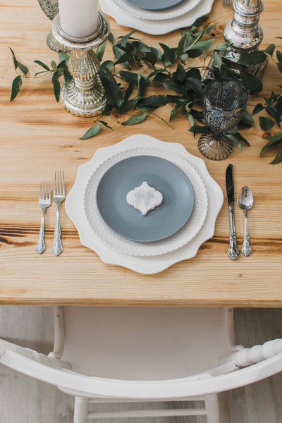 Spring table inspiration placesetting