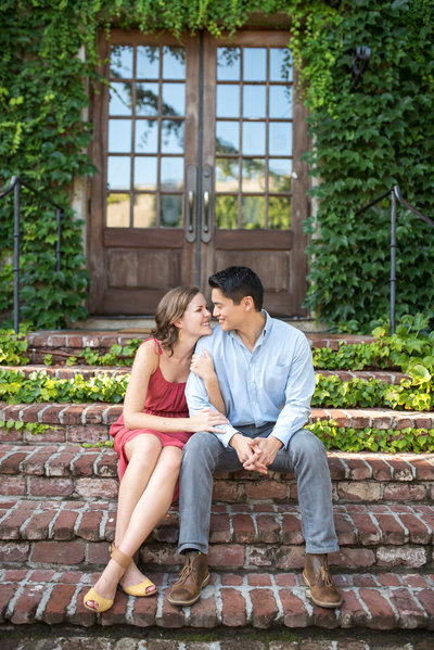 engagement session at summerour studio