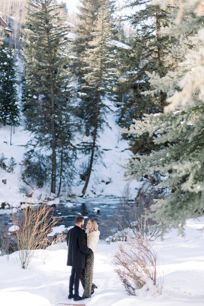vail engagement session