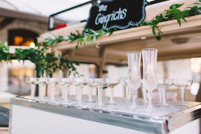Dallas Wedding Champagne Truck | Prosecco on Tap | Mobile Bar