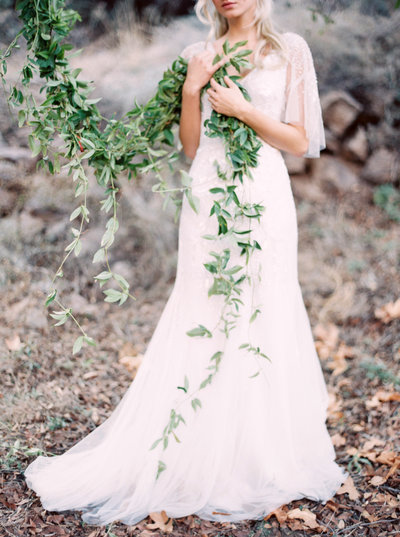 Brushfire winter bridal shoot 12
