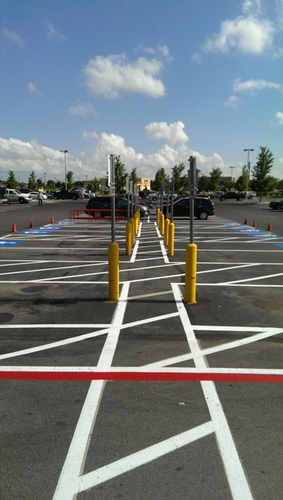 Lowes-Broken Arrow, OK-Striping Pics (7)
