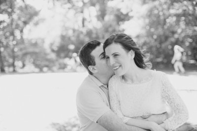 Prospect Park Engagement Photography