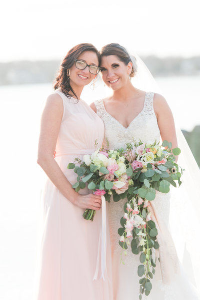 Spring wedding with multicolored dresses-86