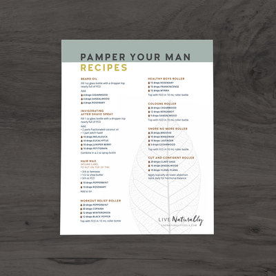 Pamper Your Man Recipes