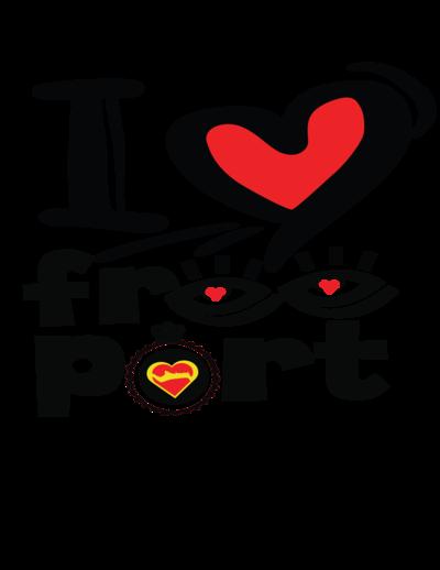 ILOVEFREEPORT Logo