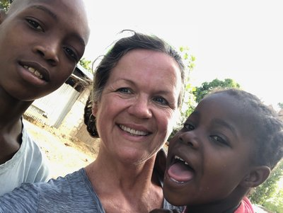 Karen in Haiti