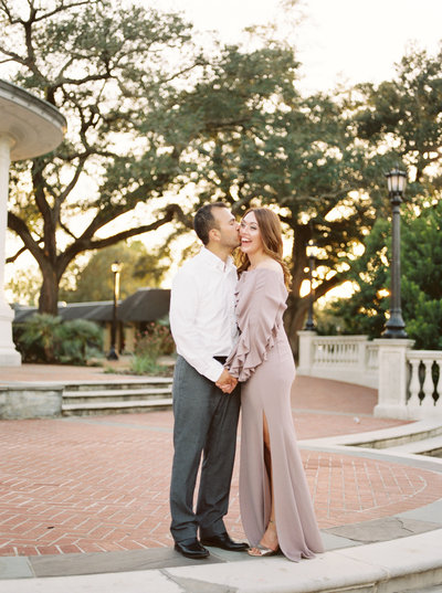 Fine Art Film Engagement Photography in New Orleans