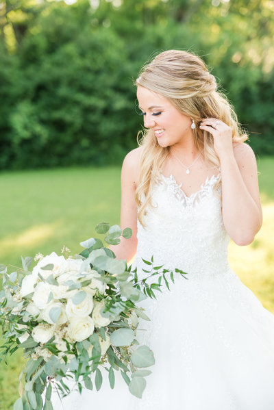 College Station Texas wedding Reilly Lynn Photography bridal portrait