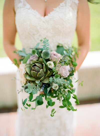 Artichoke Bridal Bouquet