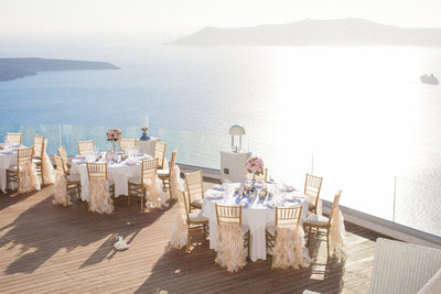 santorini wedding photographer in sun rocks hotel