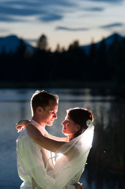 Aspen Lakes Golf Course wedding photography.