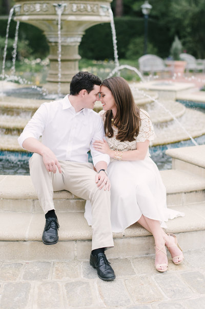 Windsor Castle Park Engagement in Smithfield, Virginia
