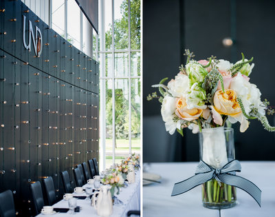 Wedding details photographed by Kris Kandel fargo photography