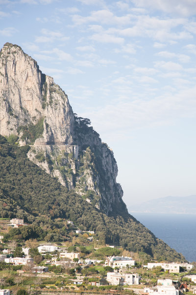 Landscape of Capri Italy by costola photography