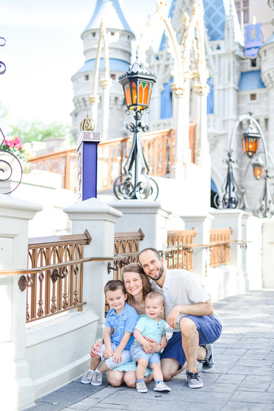 Magic Kingdom Family Session, Family Session at Magic Kingdom, Disney Family Photographer