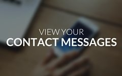 View Contact Messages