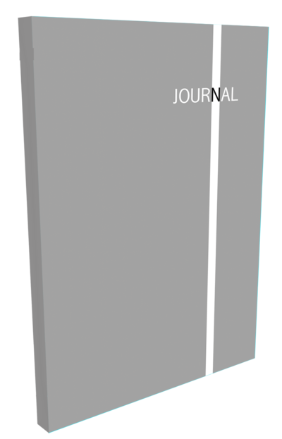 3D Journal Cover