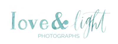 Love & Light Photographs - website logo
