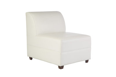 White Leather Chair (1)