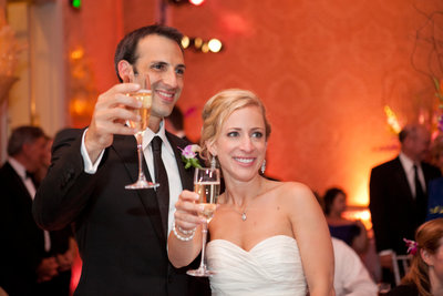 Wedding reception at the Four Seasons Beverly Hills in Los Angeles photo by Gilmore Studios