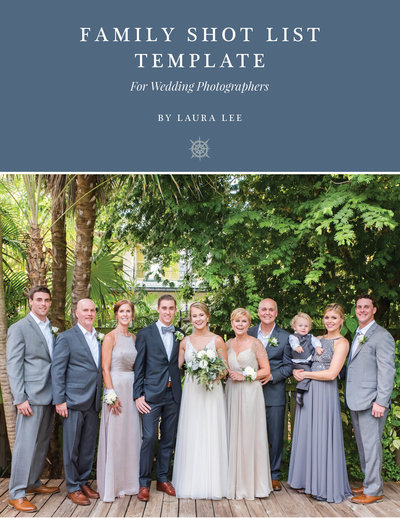 Family Shot List Template