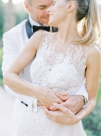Couple photos white classic wedding dubai