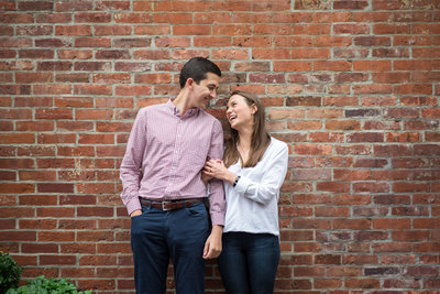 new york city engagement session in the west village