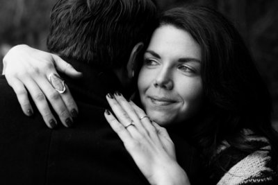 black and white engagement photography emma lee photography
