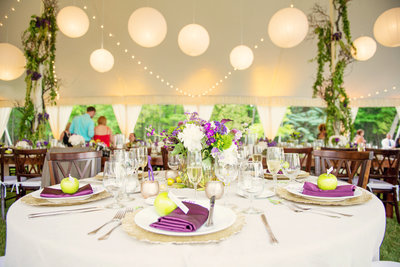 wedding tent ideas for summer reception in michigan