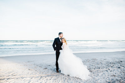 fine art beach elopement