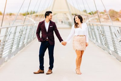 Raquel + Jamie - Tempe Engagement Session - Tempe Center for the Arts-1_WEB