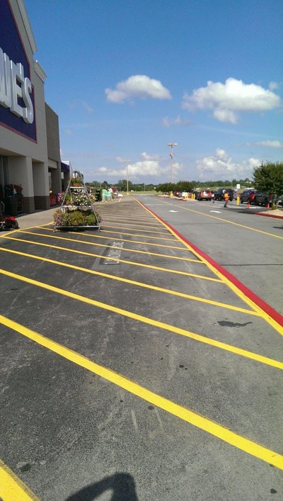 Lowes-Broken Arrow, OK-Striping Pics (13)