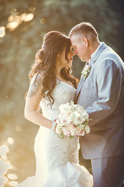 Lodi California wedding day portrait