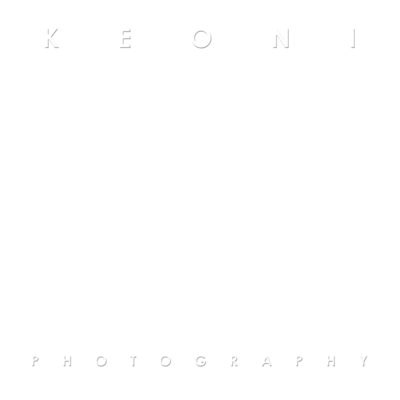 KEONI K PHOTOGRAPHY logo white