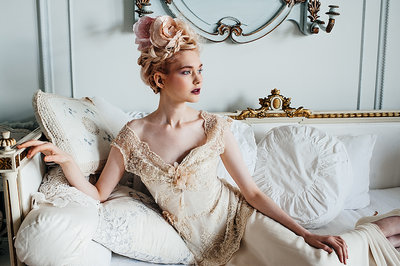 LilyElsie_beaded _lace_edwardian_champagne_wedding_dress_JoanneFlemingDesign (4)