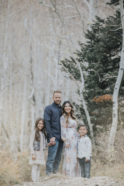 Utah Family Portrait Photographer Little Cottonwood Canyon