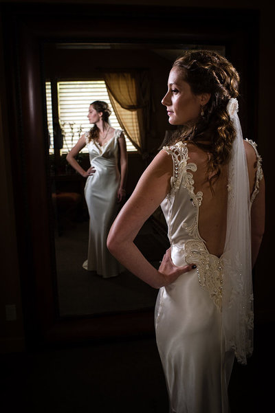 Destination wedding portrait photography at Eagle Crest by Pete Erickson Photography.