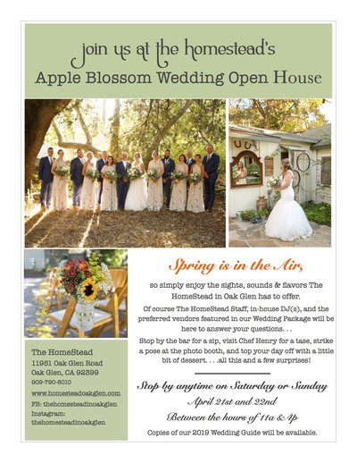 2018 Apple Blossom Open House